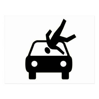 Batida pelo cartão do carro