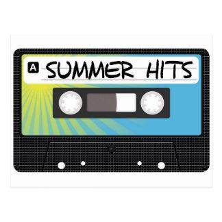 Batidas do verão cartão postal