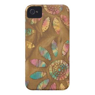 Batik da flor da margarida dos Pastels do Capa Para iPhone 4 Case-Mate