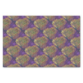 Batik do girassol papel de seda