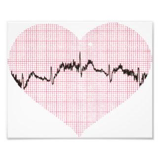 Batimento cardíaco III Impressão De Foto