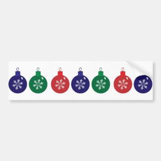 Baubles do Natal Adesivo Para Carro