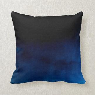 "Baumwollkissen ""flowing blue "" travesseiro de decoração"