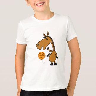 BC- cavalo que joga a camisa do basquetebol