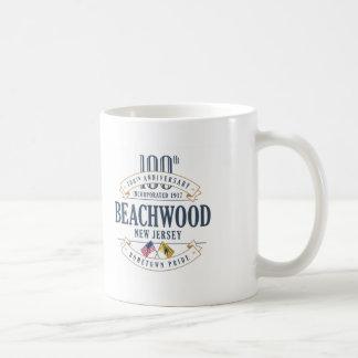 Beachwood, caneca do aniversário de New-jersey