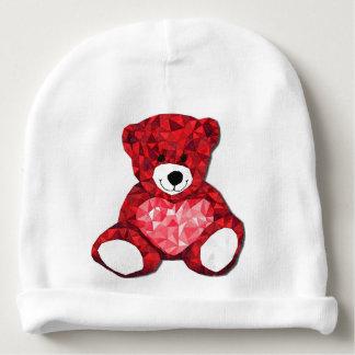 Beanie do algodão do bebê do urso de ursinho gorro para bebê