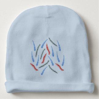 Beanie do algodão do bebê dos ramos gorro para bebê