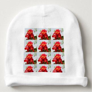 Beanie do algodão do bebê o toque final perfeito gorro para bebê