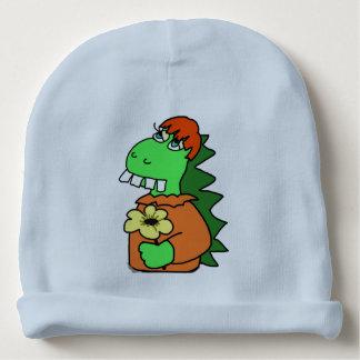 Beanie do algodão do dinossauro do bebê gorro para bebê