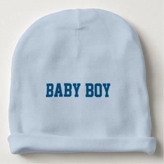 Beanie do bebé com nome indicado por letras gorro para bebê