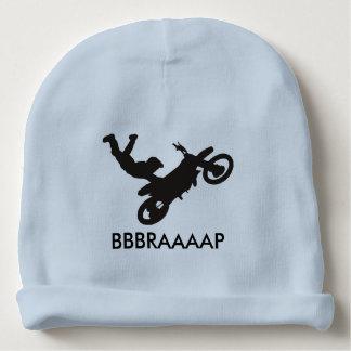 Beanie do bebê da bicicleta da sujeira gorro para bebê