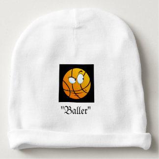 Beanie do bebê de Emoji Baller! Gorro Para Bebê