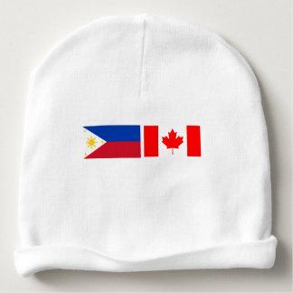 Beanie do bebê para canadenses filipinos gorro para bebê