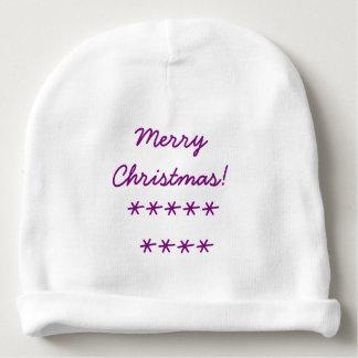 Beanie do Natal do bebê Gorro Para Bebê
