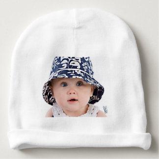 Beanie feito sob encomenda do algodão do bebê gorro para bebê