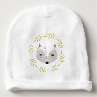Beanie Foxy do algodão do bebê da cara Gorro Para Bebê