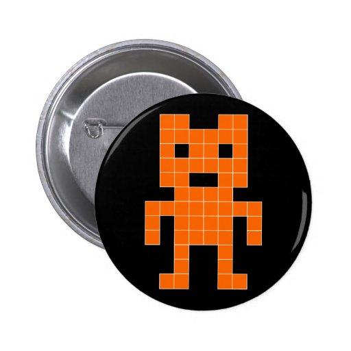 BearVader - laranja Botons