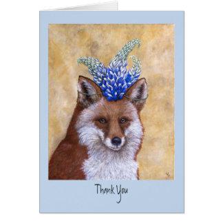 Beatrice os cartões de agradecimentos do Fox