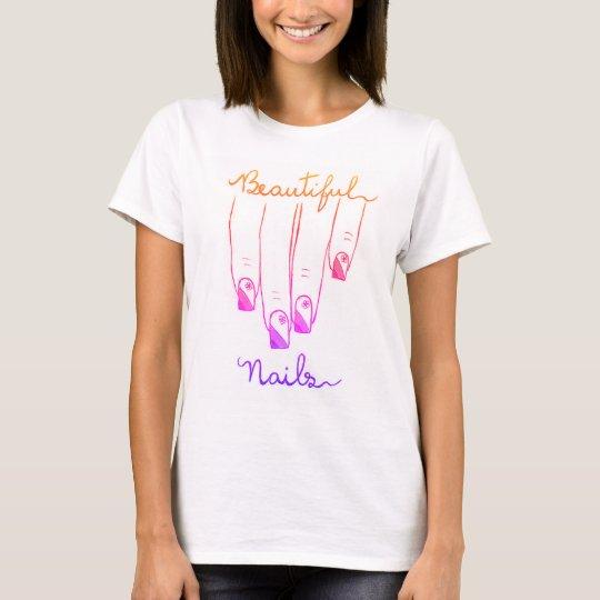 Beautiful Nail camiseta