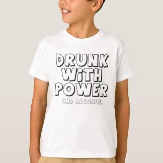 Bebado com poder camiseta
