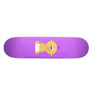 Bebê a bordo no skate 2
