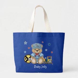 Bebê agradavelmente bolsa tote grande
