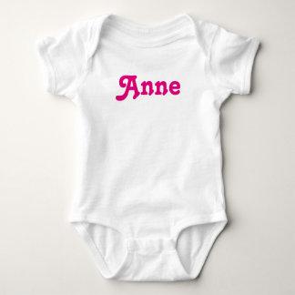 Bebê Anne da roupa Body Para Bebê