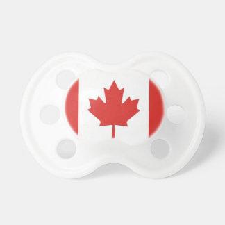 Bebê Bandeira-Patriótico canadense Chupeta Para Bebê