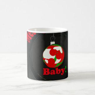 Bebê! Bebê do Feliz Natal! Caneca de café