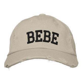 Bebe bordou o chapéu boné bordado