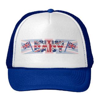 Bebê britânico boné