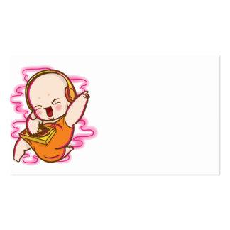 Bebê Buddha do DJ Cartão De Visita
