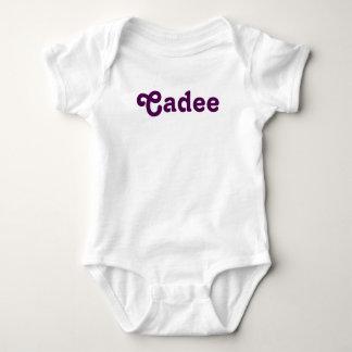 Bebê Cadee da roupa Body Para Bebê