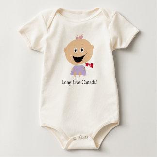 Bebé canadense - babadores