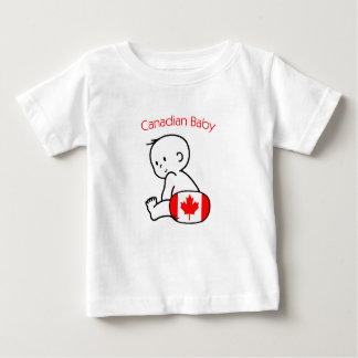 Bebê canadense tshirt