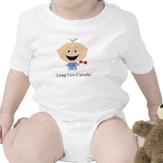 Bebé canadense - macacãozinho