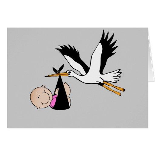 Bebé & cegonha - recém-nascidos cartões