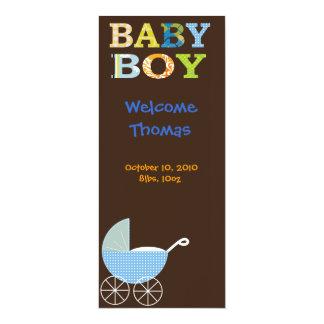 Bebé Convite 10.16 X 23.49cm