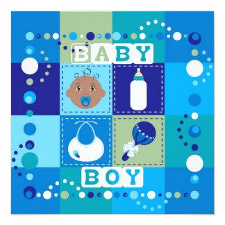 Bebé Convite Quadrado 13.35 X 13.35cm