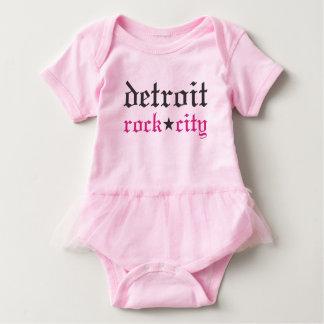 Bebê da cidade da rocha de Detroit Body Para Bebê
