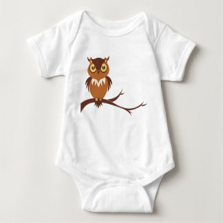 Bebê da coruja camiseta