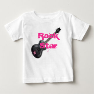 bebê da estrela do rock, estrela do rock t-shirt