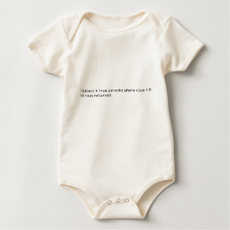 Bebê da pergunta do SQL Body Para Bebê