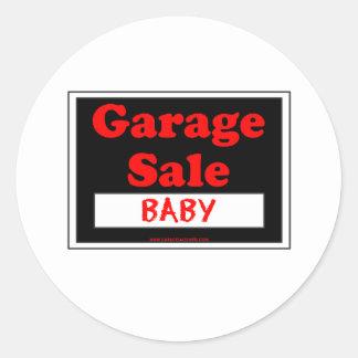 Bebê da venda de garagem adesivo