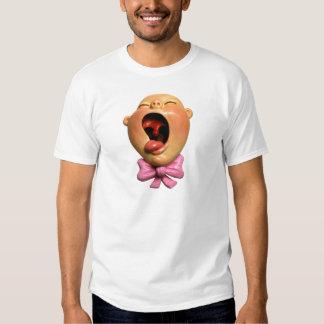 Bebê de grito da menina tshirt