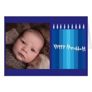 Bebê de Hanukkah Cartão Comemorativo