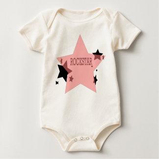 Bebé de Rockstar Body Para Bebê