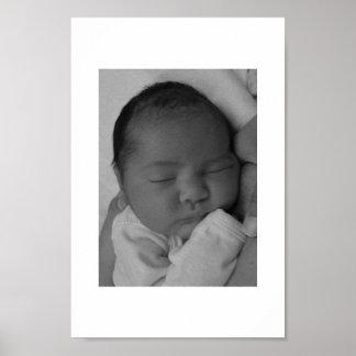 Bebê de sono pôster