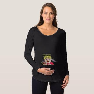 Bebê de Trumpy - camisa longa de maternidade da