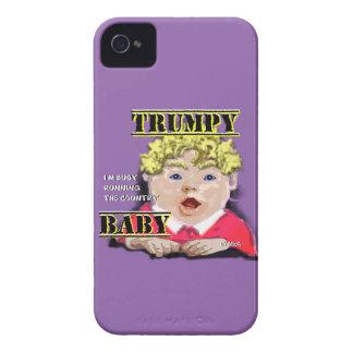 Bebê de Trumpy - capa de iphone 4